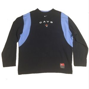 Cleveland Cavaliers Vintage 90s Nike Pullover LRge